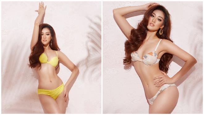 Hoa hậu Khánh Vân tung bộ ảnh bikini nóng bỏng
