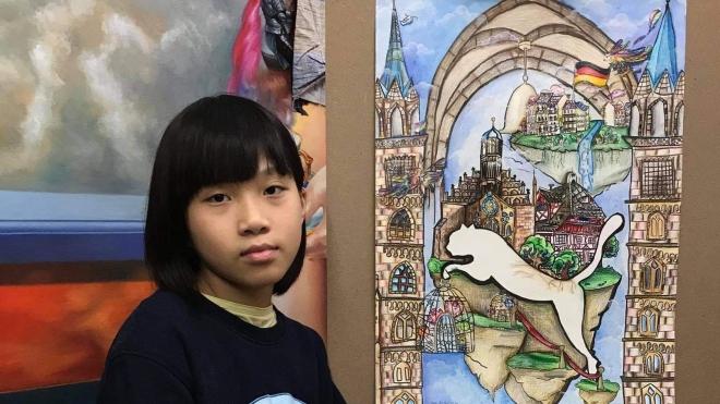 'Họa sĩ nhí' Nguyễn Đới Chung Anh: Từ Khát vọng Dế Mèn đến họa sĩ chuyên nghiệp