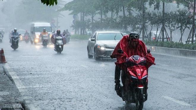 Thời tiết hôm nay, Miền Bắc ngày nắng, tối mưa dông miền Nam mưa to và dông, dự báo thời tiết, thời tiết
