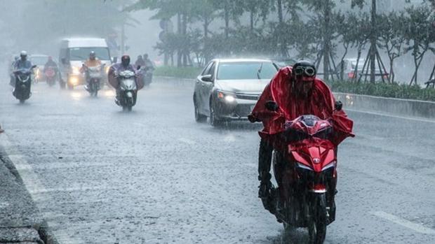 Nam Bộ tiếp tục mưa rào và dông nhiều nơi