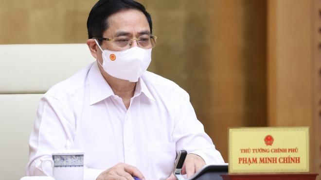 Thủ tướng Phạm Minh Chính: Phải đẩy lùi dịch Covid-19 tại Bắc Giang, Bắc Ninh