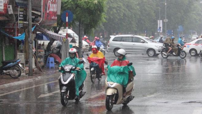 Thời tiết ngày và đêm 11/6, Tây Bắc Bộ có nơi mưa rất to