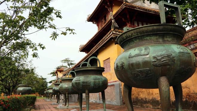 Thừa Thiên - Huế xây dựng hồ sơ di sản tư liệu cho bảo vật quốc gia Cửu đỉnh