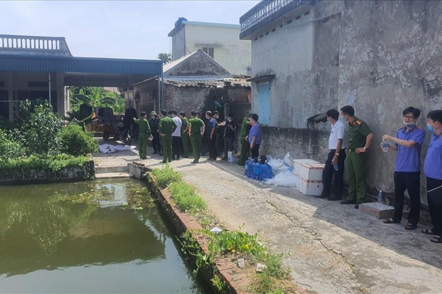 Khởi tố bị can vụ thảm án con rể giết bố mẹ vợ và vợ tại Thái Bình, khởi tố vụ án, án mạng, vụ án mạng tại thái bình, án mạng thái bình, án mạng ở thái bình