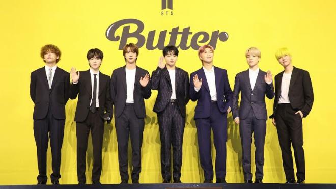 Ca khúc 'Butter' của BTS lập kỷ lục mới