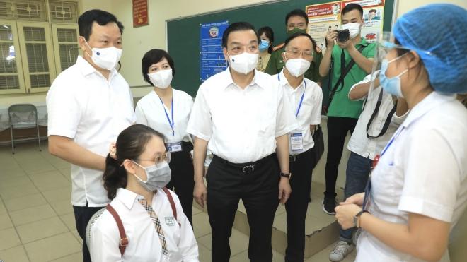 Hà Nội bảo đảm an toàn ở mức cao nhất cho Kỳ thi tốt nghiệp THPT