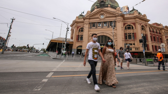 Quan chức Australia kêu gọi sống chung với dịch Covid-19