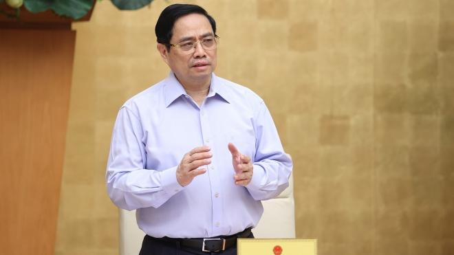 Thủ tướng Phạm Minh Chính gửi thư động viên các lực lượng tuyến đầu phòng chống dịch Covid-19