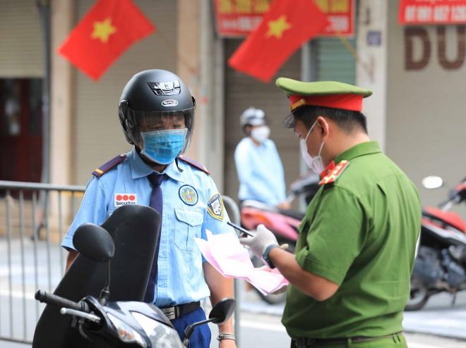 Hà Nội: Vị trí các chốt kiểm soát tuyến đường ra, vào vùng đỏ