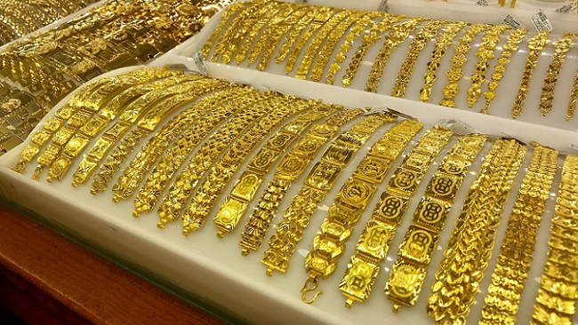 Giá vàng sáng 6/9 giao dịch trên mốc 57,4 triệu đồng/lượng