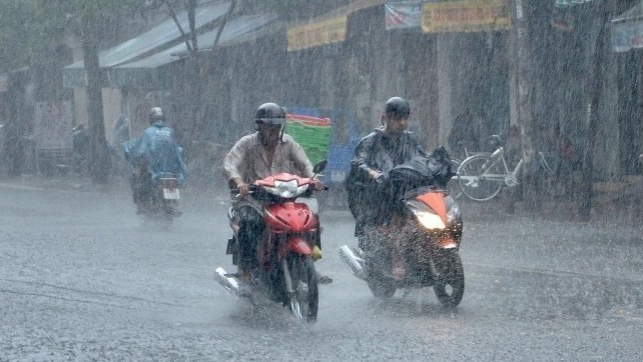 Cả nước có mưa rất to từ đêm 7/9 đến ngày 9/9