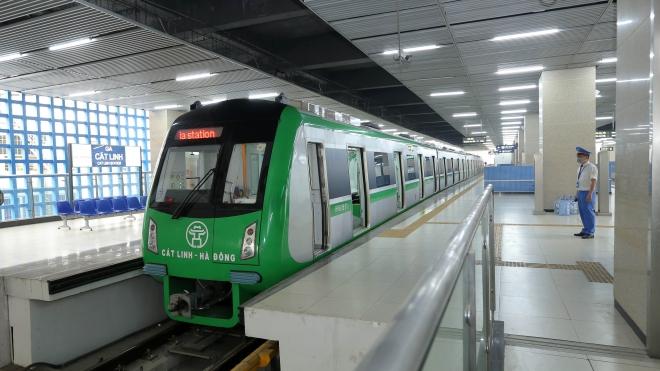 Ấn định thời gian về đích dự án đường sắt Cát Linh - Hà Đông