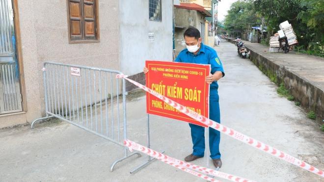 Hà Nội cách ly y tế tạm thời khu dân cư ở Hà Đông có ca mắc là nhân viên y tế