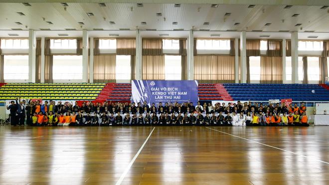 Hơn 100 VĐV tham dự Giải Kendo Việt Nam lần thứ hai