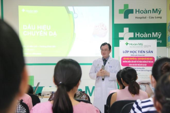 Bệnh viện Hoàn Mỹ Cửu Long tổ chức lớp tư vấn sản nhi định kỳ hàng tháng