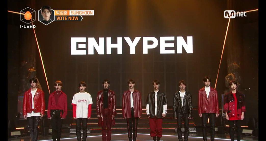 ILand, Chung kết ILand, Đội hình chính thức ILand, 7 thành viên ILand, ENHYPEN, Đội hình thắng cuộc của ILand 7 thành viên chính thức ra mắt với tên gọi lạ ENHYPEN