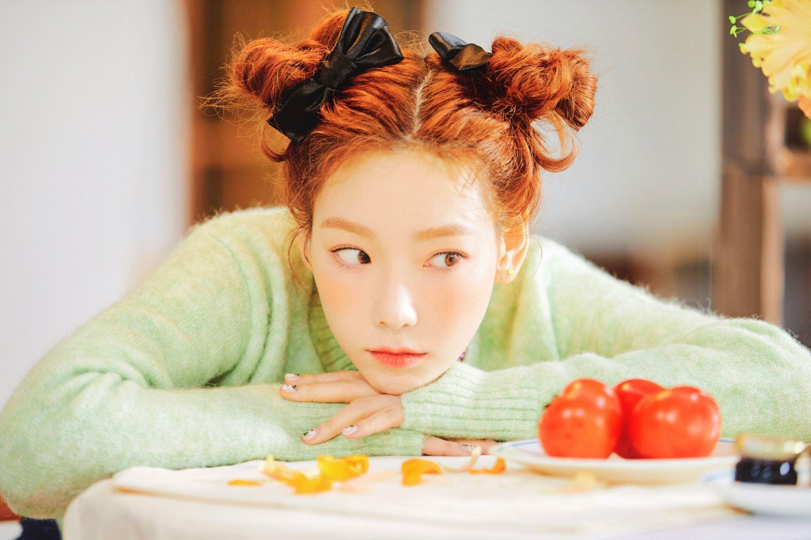 Taeyeon (SNSD), đĩa đơn HAPPY của Taeyeon, SNSD, bố Taeyeon qua đời