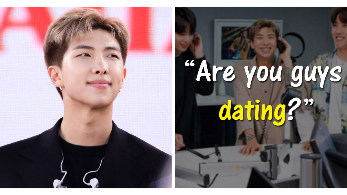 Trưởng nhóm BTS RM phản pháo cực chất khi bị hỏi về chuyện hẹn hò