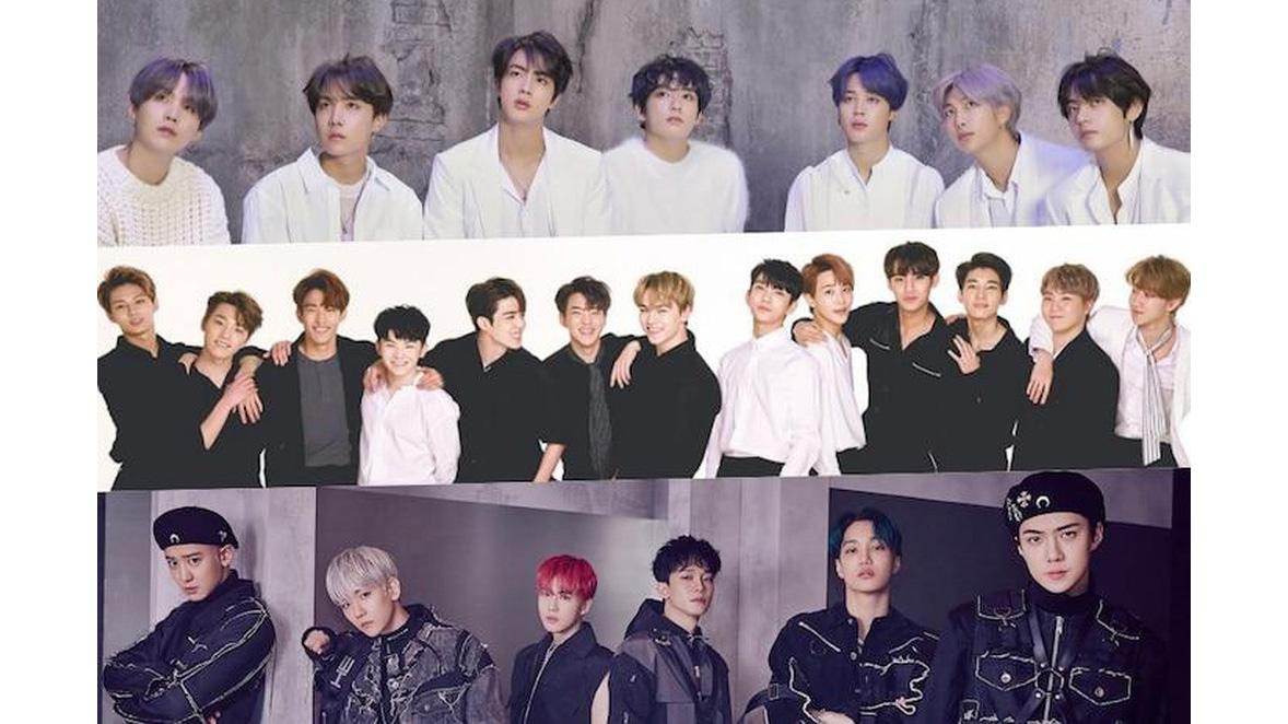 Top 10 nhóm nhạc nam nhảy đồng đều nhất K-Pop: BTS chỉ đứng hạng 9, hạng 1 gây bất ngờ với số liệu khó tin!