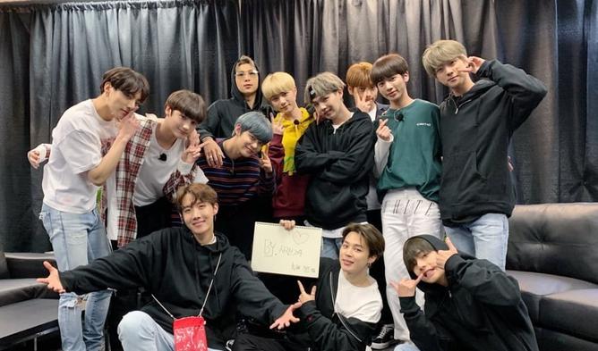 Jungkook, Jungkook và Beomgyu (TXT), Jungkook và Beomgyu (TXT) tại MAMA 2019, tương tác của Jungkook
