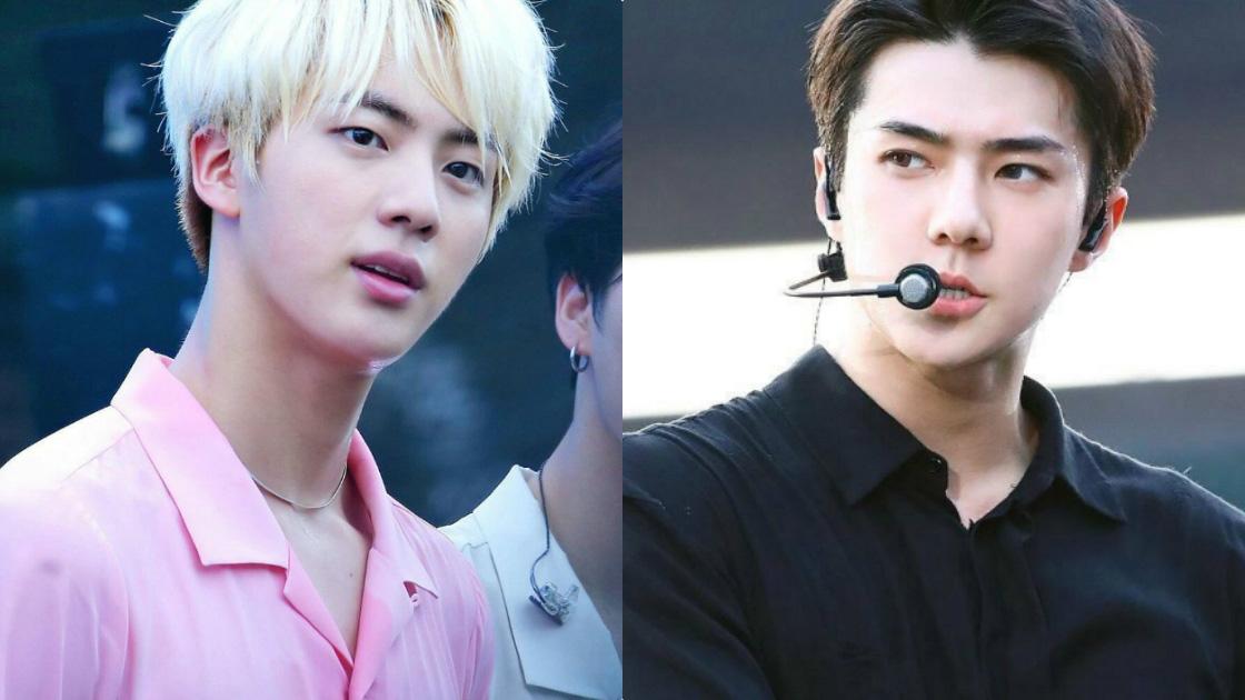 Jin BTS lọt Top 6 nam thần Hàn Quốc sở hữu bờ vai quyến rũ nhất
