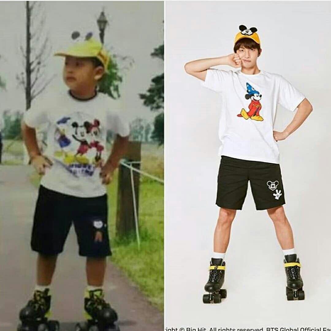 BTS, BTS thời ấu thơ, Tuổi thơ của BTS, Bộ ảnh về thời thơ ấu của BTS