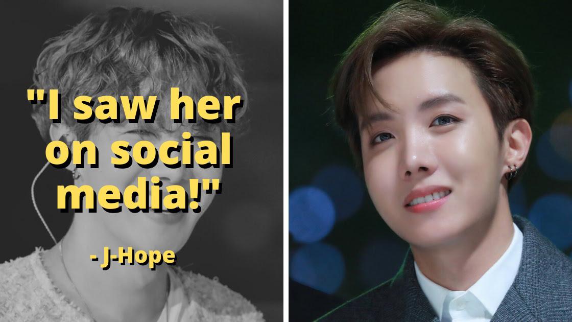 J-Hope BTS từng một thời 'quay cuồng' vì hot girl mạng xã hội nóng bỏng này