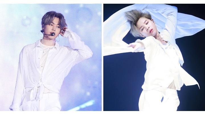 'Lạc vào cõi thần tiên' khi Jimin BTS diện đồ trắng thuần khiết như thiên thần!
