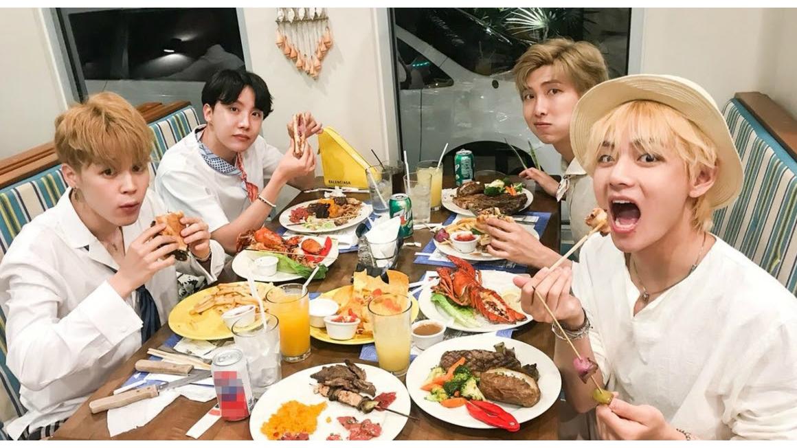 'Mãn nhãn' với khoảnh khắc đắm chìm trong đồ ăn của các 'thực thần' BTS