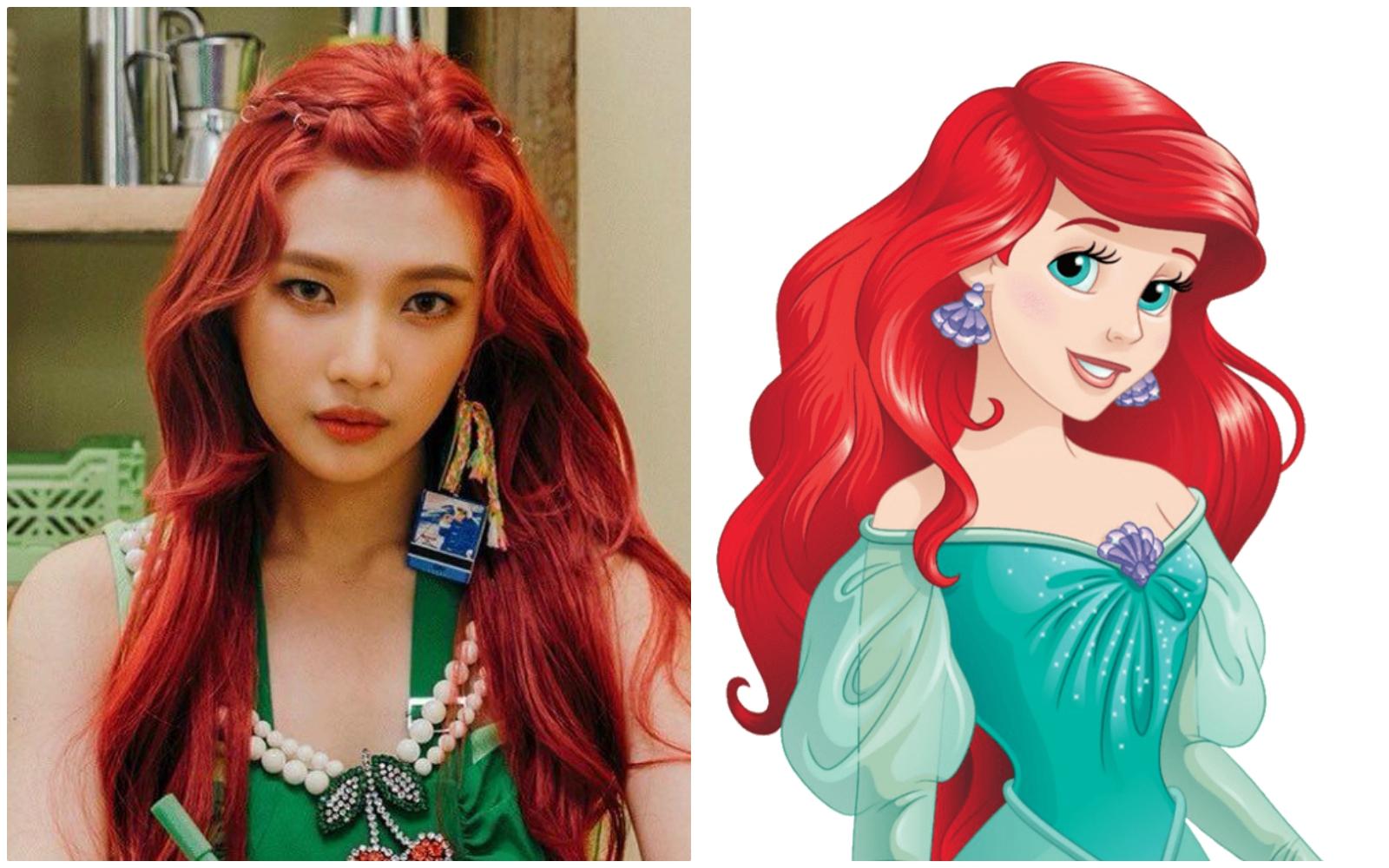Joy, Red Velvet, Joy là hiện thân của các nàng công chúa Disney đời thực, Tiana, Rapunzel, Elsa, Belle, Moana, Aurora, Ariel, Cinderella, Snow White