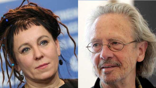 VIDEO: Olga Tokarczuk và Peter Handke giành Nobel Văn học 2018 và 2019