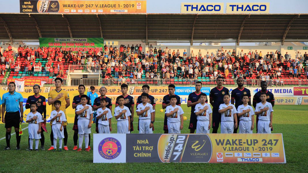 VIDEO trực tiếp Sài Gòn vs TPHCM (19h, 6/4). Xem bóng đá trực tuyến V League 2019