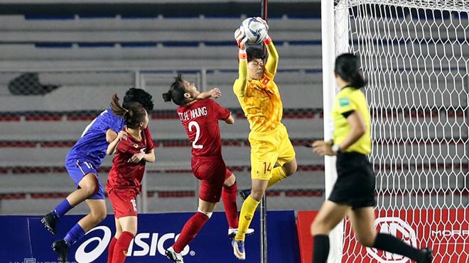Thủ môn Kim Thanh lý giải thất bại của nữ Việt Nam trước Hàn Quốc