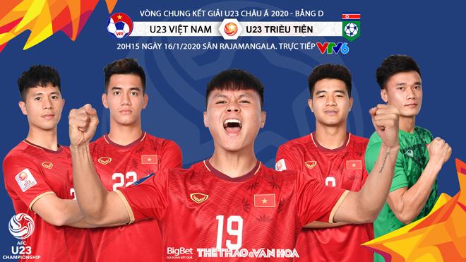 Soi kèo U23 Việt Nam vs U23 Triều Tiên, 20h15 ngày 16/1