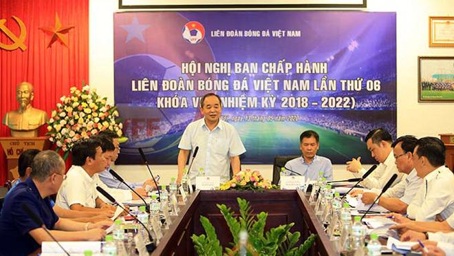VFF quyết phương án V-League chỉ có 1 đội xuống hạng và rút bớt số trận