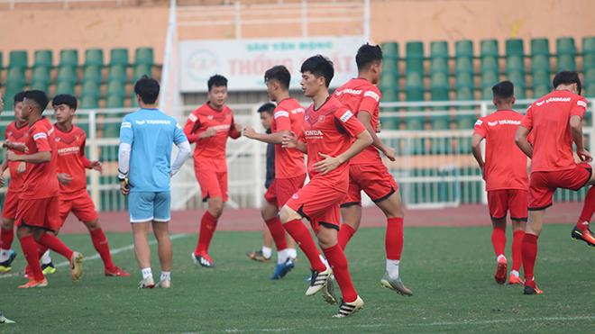 HLV Park Hang Seo tạm gút danh sách U23 Việt Nam