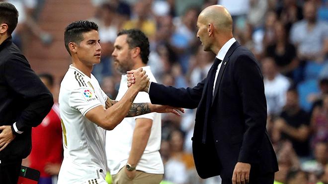 "Real Madrid: Zidane chờ ""tân binh"" James Rodriguez"