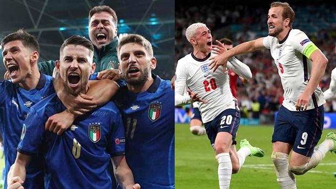 Nhận định Anh vs Ý (VTV3, VTV6 trực tiếp): Trận chiến cuối cùng EURO 2021