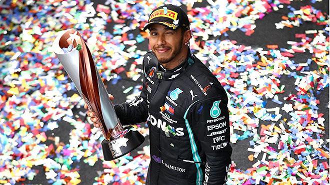 Chặng Russian Grand Prix: Hamilton lần thứ 100 thắng chặng