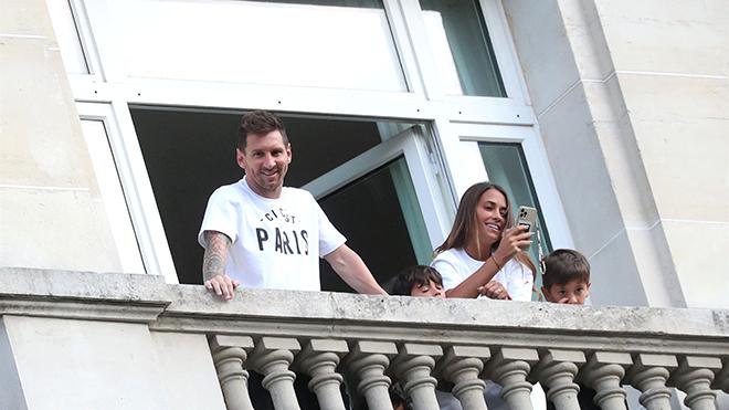 Ác mộng của Messi ở Paris
