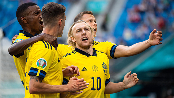 Thụy Điển vs Ukraine (trực tiếp VTV3): Bùa hộ mệnh Forsberg