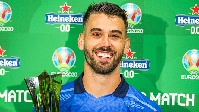 EURO 2021: Spinazzola hồi sinh vị trí hậu vệ trái