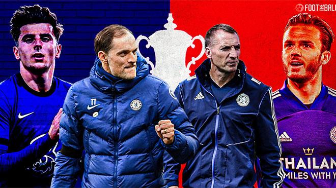 Trực tiếp bóng đá Chelsea vs Leicester: Chiếc cúp cho những người thế thân