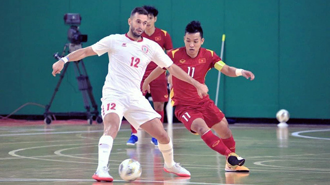 Play-off lượt về FIFA Futsal World Cup, Lebanon vs Việt Nam: Lần thứ 2 lịch sử cho Việt Nam