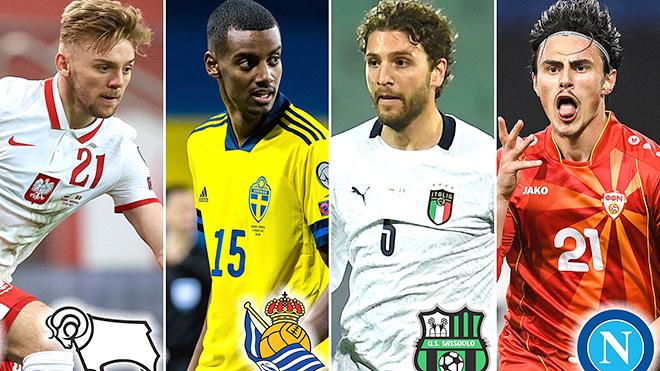 Top 10 tài năng trẻ đáng chú ý ở EURO 2020