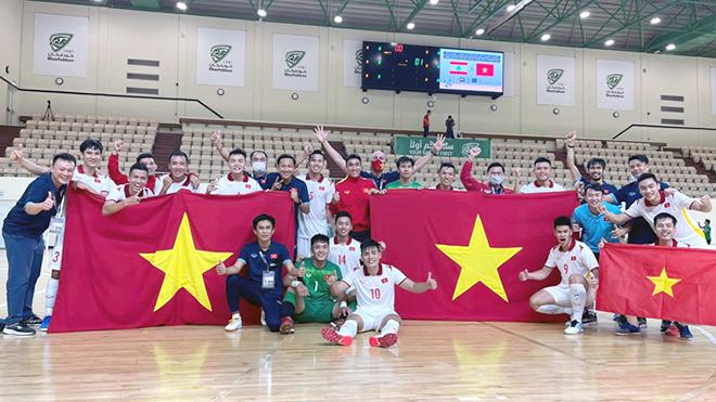 Futsal Việt Nam không còn ăn may