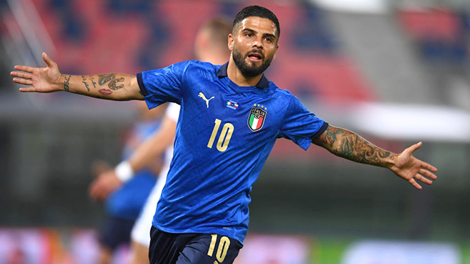"""Đội tuyển Italy: Khát vọng của """"chàng lùn"""" Insigne"""