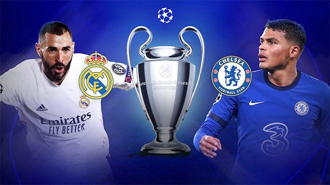 Trực tiếp Real Madrid vs Chelsea (02h00, 28/4): Cởi mở hay đậm đặc toan tính? (K+PM trực tiếp)