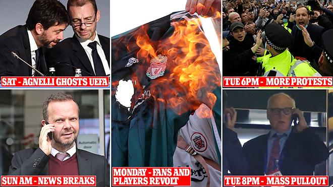 European Super League: Cuộc cách mạng 48 giờ