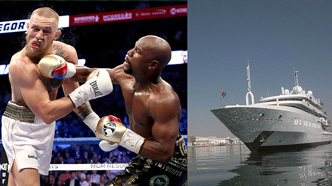 Floyd Mayweather và Conor McGregor: Siêu đại chiến trên du thuyền